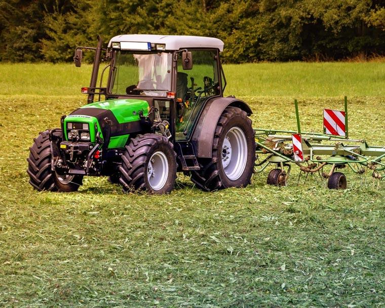 Reparatur von Landmaschinen
